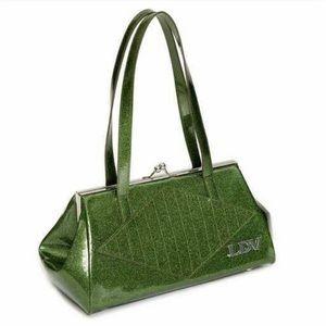 Kiss lock - martini green